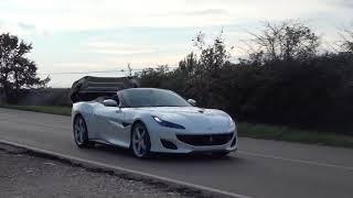 Check out this NEW Ferrari Portofino! First Drive & Exhaust Sound (250 000$)