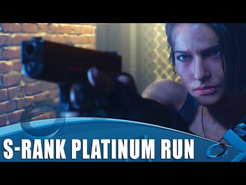 Resident Evil 3 - S Rank Platinum Run