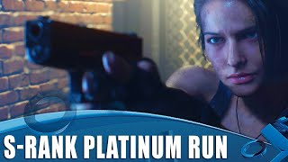 Resident Evil 3 - S Rank Platinum Run
