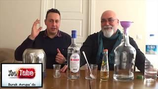 ETİL ALKOL İLE EVDE RAKI YAPIMI DETAYLI ANLATIM
