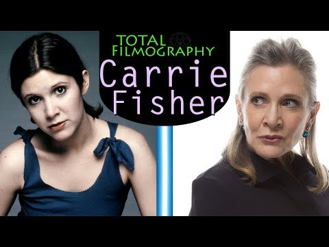 Carrie Fisher | EVERY movie through the years | Total Filmography | 2018