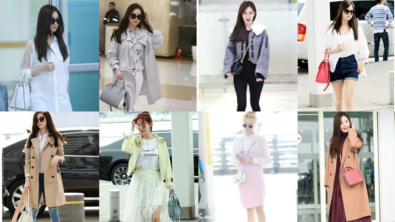 Seohyun airport fashion | SNSD - YouTube