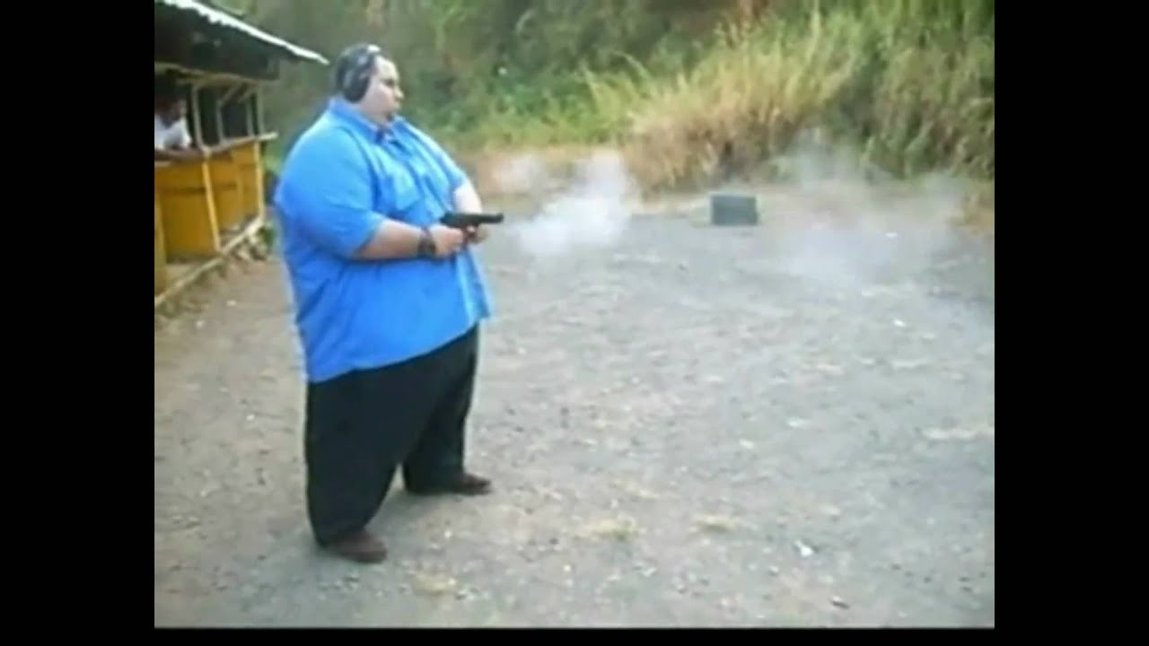 Fat Guy With A Gun 100