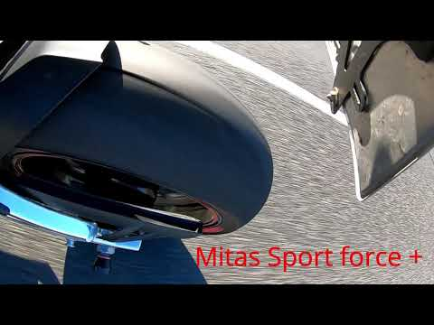Mitas Sport Force+     Test Temp.