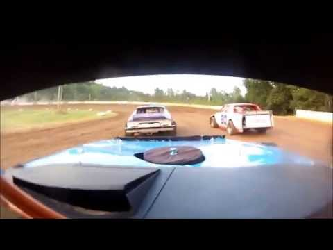 North Central Arkansas Speedway 7-18-14 Hobby Stock heat race