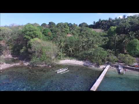 Batangas white sand beach front property for sale.