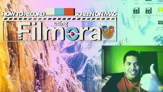 How To Record Screen & Webcam (Facecam) Simultaneously with Filmora 2017