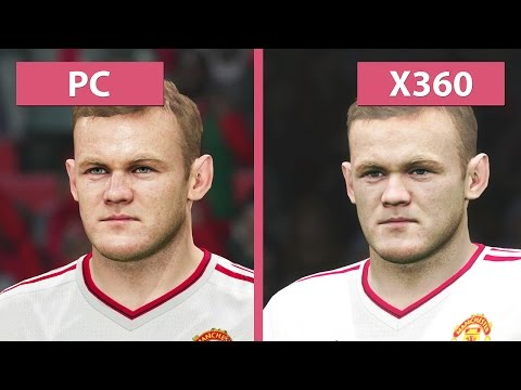 PES | Pro Evolution Soccer 2016 – PC Vs. Xbox 360 Graphics Comparison [FullHD][60fps]