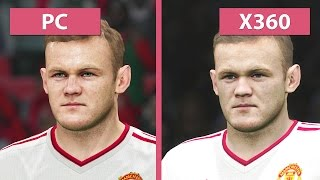 PES | Pro Evolution Soccer 2016 – PC vs. Xbox 360 Graphics Comparison [FullHD][60fps]