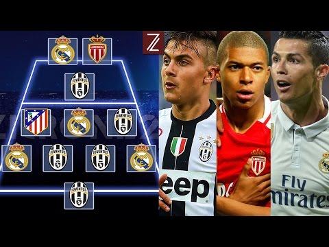 El Once Ideal y los 5 Mejores Goles de los Cuartos   Champions League 16/17