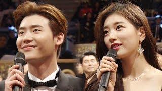이종석·수지, 매일 꿈꾸는 커플의 시상식 꿈자리♡ @SBS 연기대상 1회 20171231