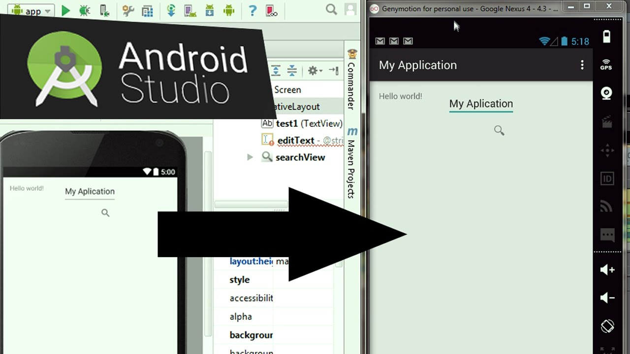 Cara Menjalankan Aplikasi Android Studio di Genymotion ...