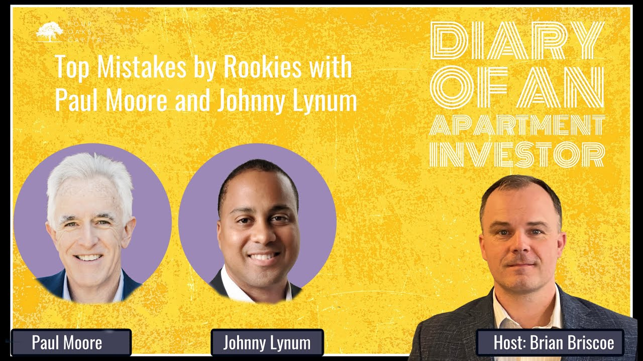 ATE-Top Mistakes by Rookies with Paul Moore and Johnny Lynum