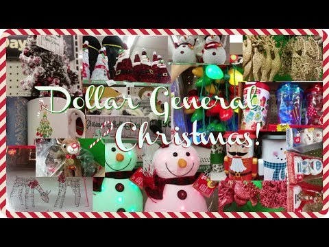 What's At Dollar General? Christmas 2017 - YouTube
