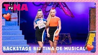 Met MYLÈNE en ROSANNE achter de schermen bij TINA DE MUSICAL | TinaTV