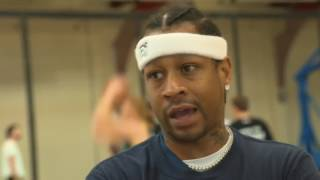 Three is a magic number for Ice Cube's Big 3 ft. Allen Iverson & Jason Williams