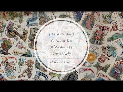 開箱  丹尼洛夫雷諾曼-第二版 • Lenormand Oracle by Alexander Daniloff // Nanna Tarot