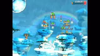 Angry Birds 2 - Level 377 - Hard Level/Schweres Level (with spells/mit Zaubern)