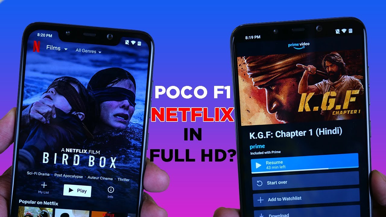 POCO F1 gets Widevine L1 Certification but is it working? Test with Proof!