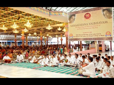 Sanathana Vaibhavam - Program by the Alumni of Sri Sathya Sai Mirpuri College of Music - Nov 1, 2015