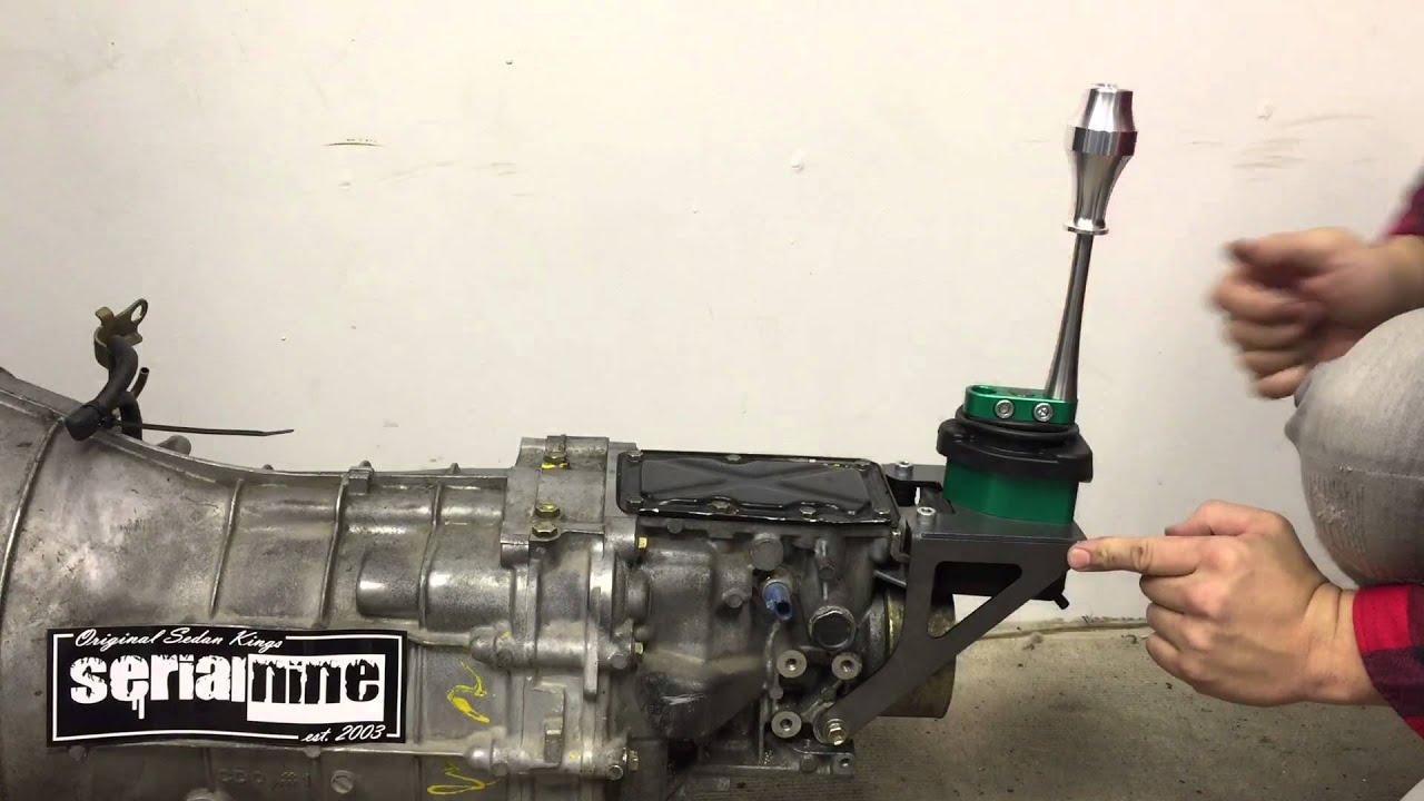 Serialnine 350z Transmission Shifter Relocation Cd003