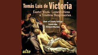Holy Saturday - Sabbato Sancto ad Matutinum: Lectio III: Incipit Oratio Ieremiae Prophetae