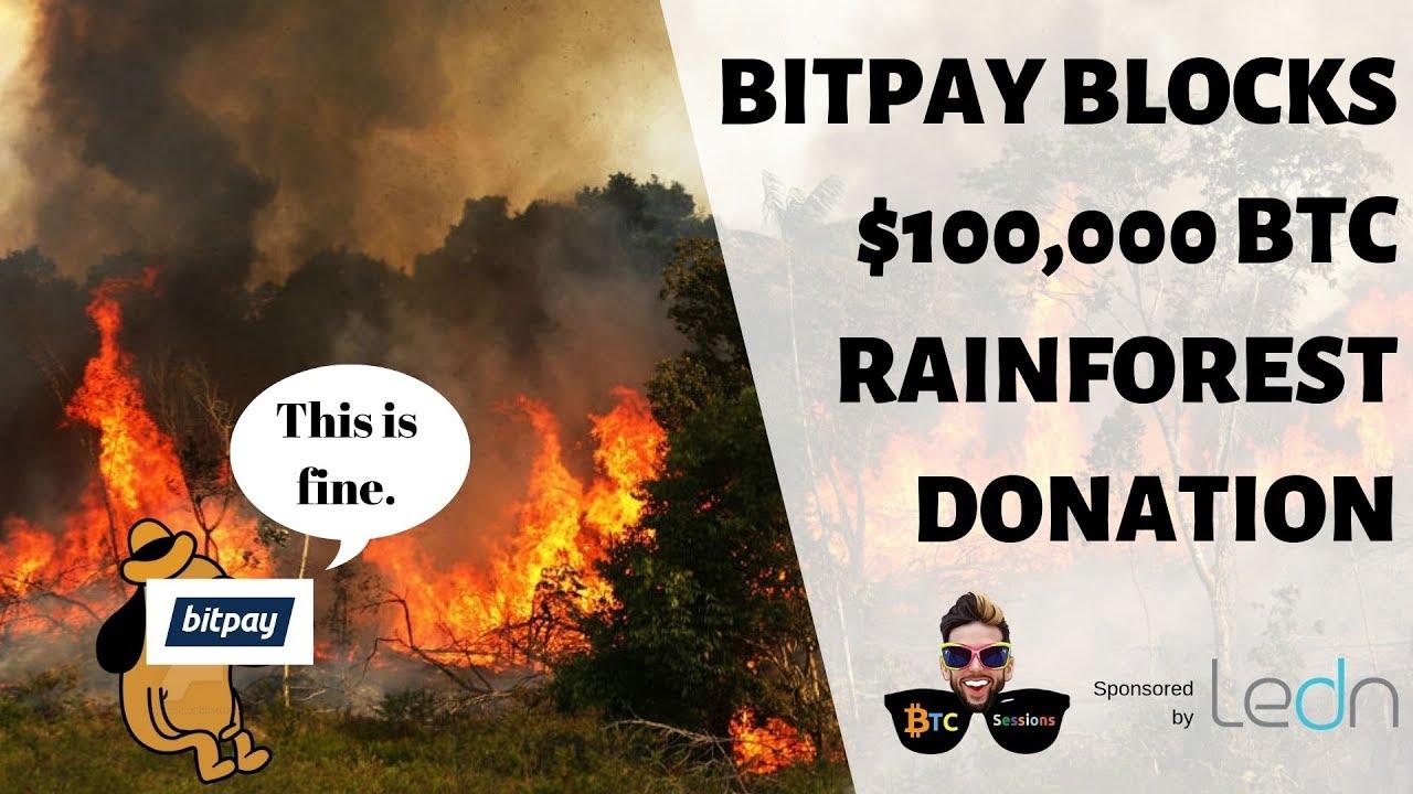 Bitpay Blocks $100k Rainforest Donation | Libra Backers Leaving? |  Canadians Scam HitBTC User