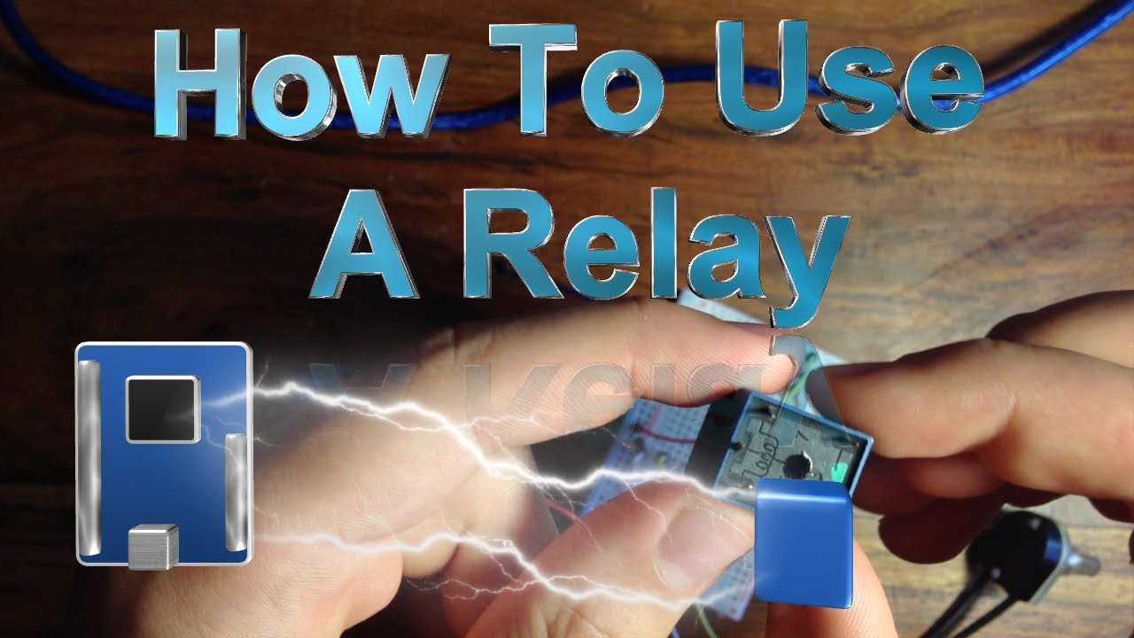 How To Use A Relay With The Arduino Youtube Power Function