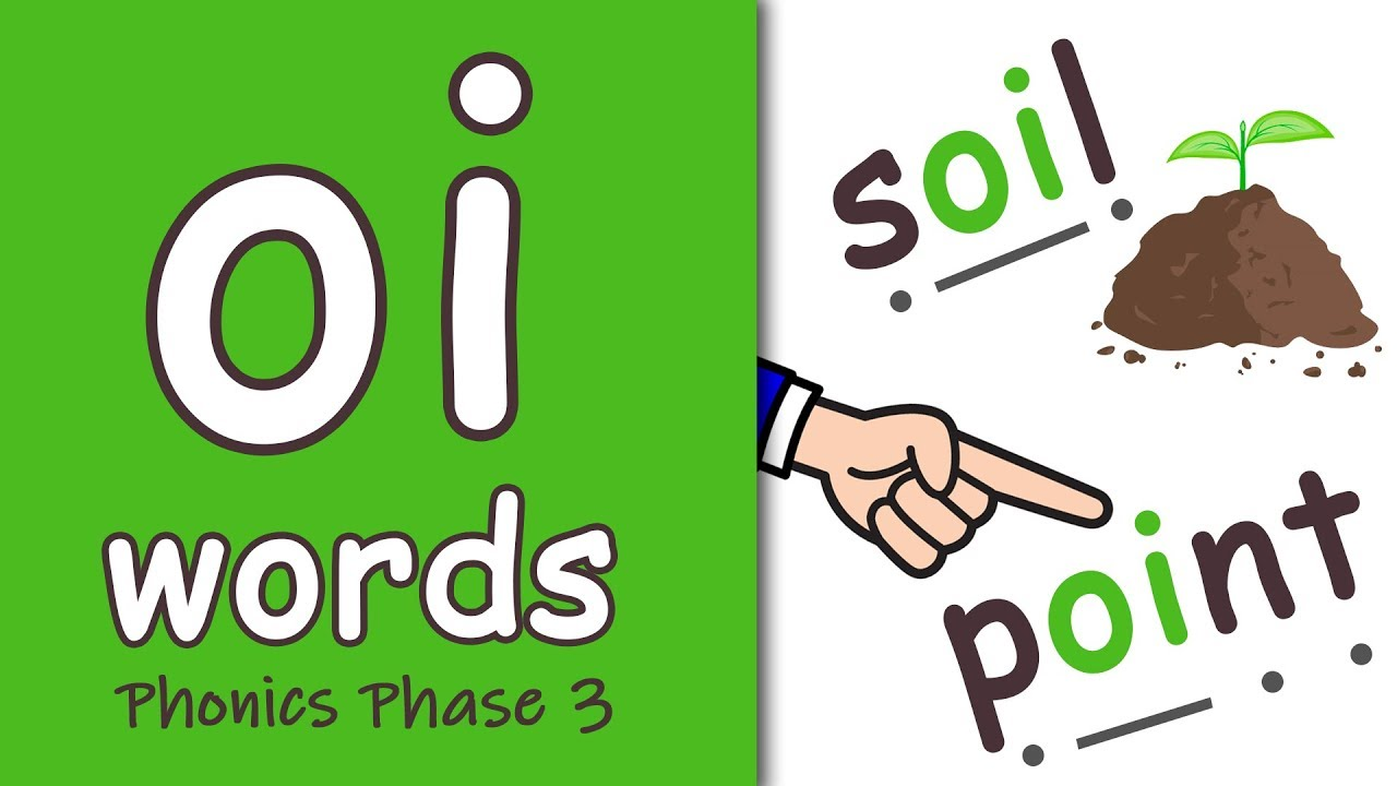 Download 'oi' Words | Phonics Phase 3