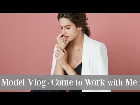 Model Vlog | Come to a Jewelry Photo-shoot with Me | My Life as a Model in Korea | Maria Maria