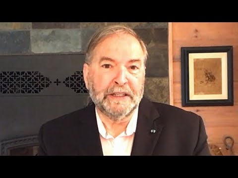 'Entirely possible': Mulcair on Tories overtaking Liberals