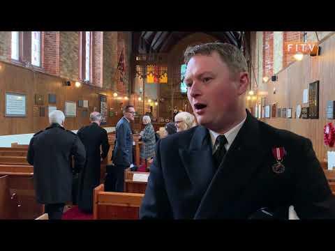 The Falkland's Bid Farewell To Navy Patrol Vessel HMS Clyde