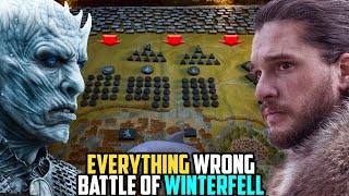Everything Wrong With the Battle of Winterfell