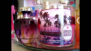 Bath And Body Works Candle Review: Hawaiian Hibiscus