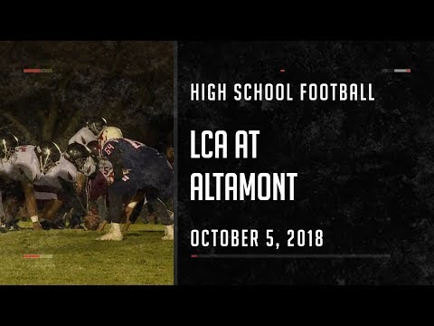 2018 Football - Layton Christian Academy at Altamont
