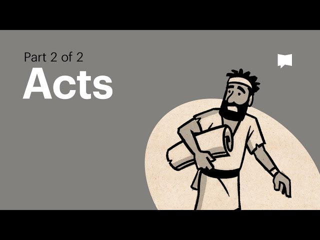 Overview: Acts 13-28