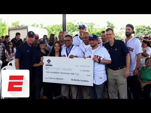 Puerto Rico's MLB sons help out their homeland after Hurricane Maria | SportsCenter | ESPN