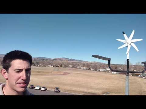 Renewable Energy Lightpost: Walt Clark Middle School