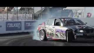 Drift And Bass 2014|Formula Drift Streets of Long Beach