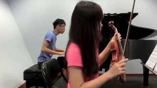 Yiruma - River Flows in You (Piano and Violin duet Covered by FalconZit and Ngaki)