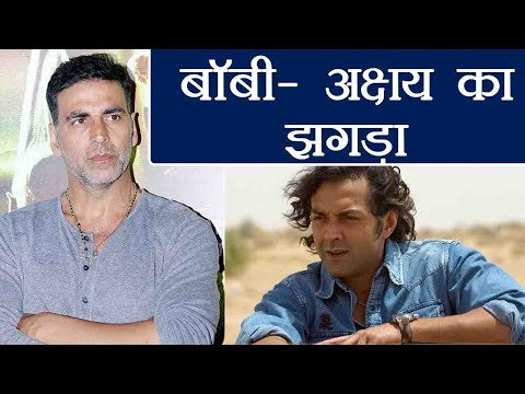 Race 3: Bobby Deol REVEALS why Akshay Kumar was angry with him; Find out reason  FilmiBeat