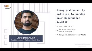 Using pod security policies to harden your Kubernetes cluster