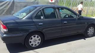 Видео-тест автомобиля Nissan Sunny (темно-синий, FB15-079290, Qg15de, 2000г)