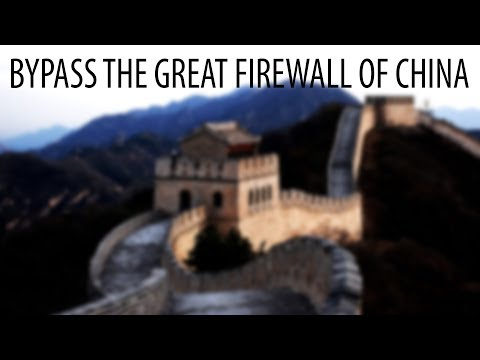 Bypass The Chinese Firewall With Shadowsocks
