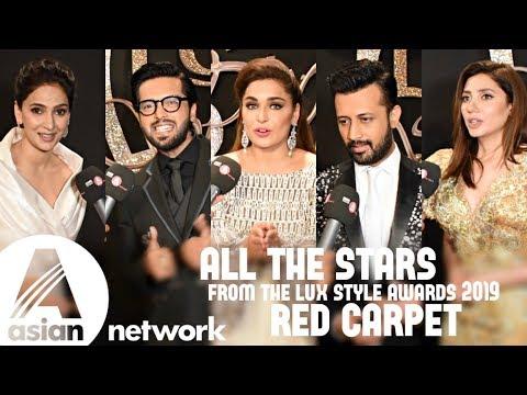 Mahira, Saba, Iqra, Atif, Feroze, Fahad & many more on Lux Style Awards  2019 red carpet