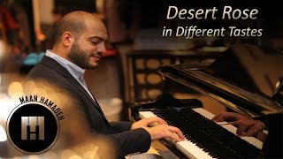 Desert Rose in Different Tastes - Maan Hamadeh