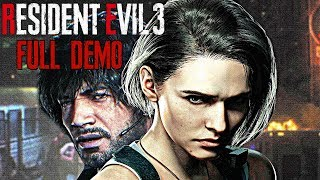 Resident Evil 3 Remake - Gameplay Walkthrough Part 1 - FULL DEMO (PS4/XB1/PC) 1080p 60fps