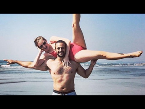 Arunoday Singh Enjoying Vacation With Wife Lee Elton in Goa