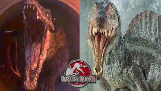 The Baryonyx Was Supposed To Be In Jurassic Park 3 | JWFK Antagonist