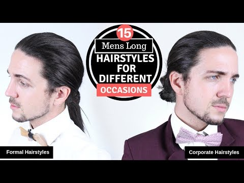 ✅ 15 Mens Long Hairstyles for Different Occasions – Formal, Corporate & Casual